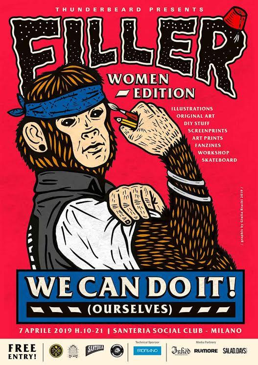 Filler Women Edition – 7 Aprile Milano