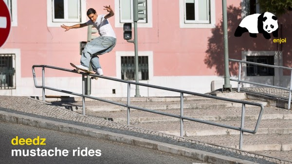 "Enjoi Skateboards – Didrick ""Deedz"" Galasso Mustache Rides Part"