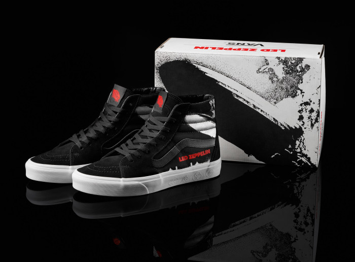 Vans lancia una capsule collection in collaborazione con i Led Zeppelin