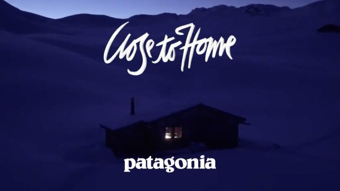 Patagonia 'Close To Home' (2019)