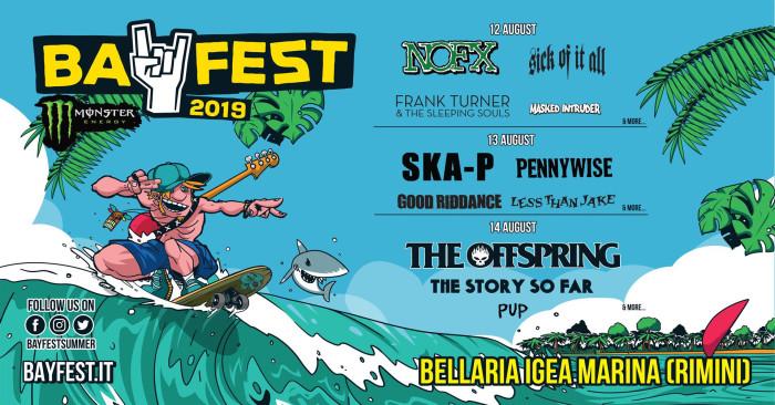 Bay Fest 2019 – Ska-P terzi headliner del festival; si aggiungono anche i Pennywise