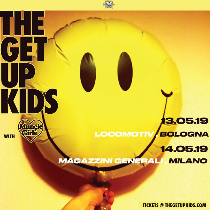 The Get Up Kids due date a maggio