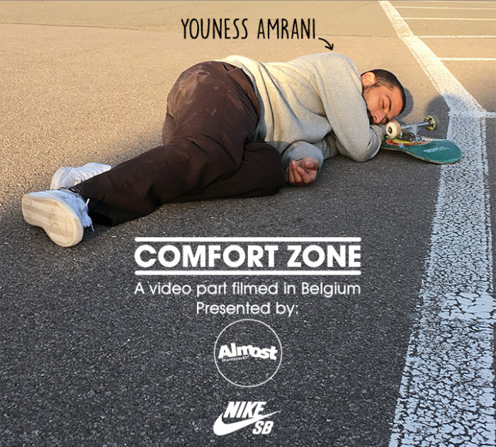 Almost Skateboards – Youness 'Comfort Zone' part