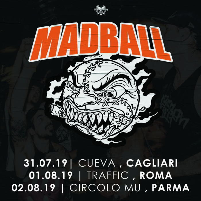 Madball: in Italia per tre date!