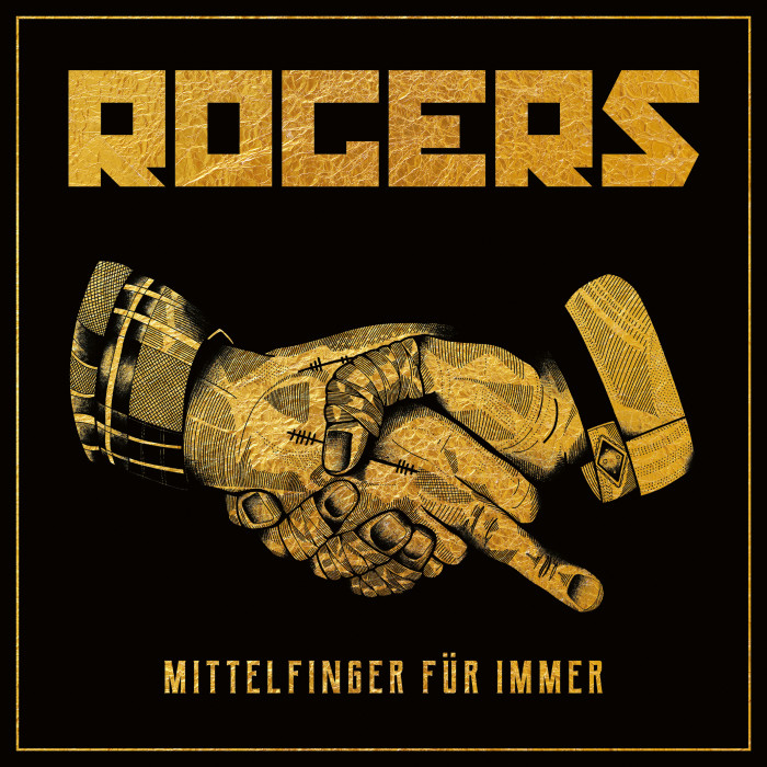 Rogers 'Mittelfinger Für Immer'