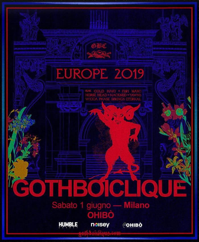 Gothboiclique – Per la prima volta in Italia il collettivo emo rap statunitense. Unica data: 1 giugno, al Circolo Ohibò di Milano