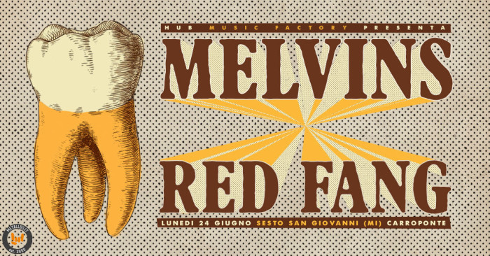 The Melvins e Red Fang: un co-headliner fuori dal normale in arrivo al Carroponte