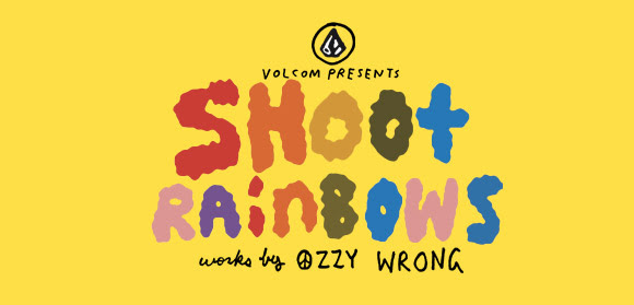 Volcom / 'Shoot Rainbows' Into Facism in London