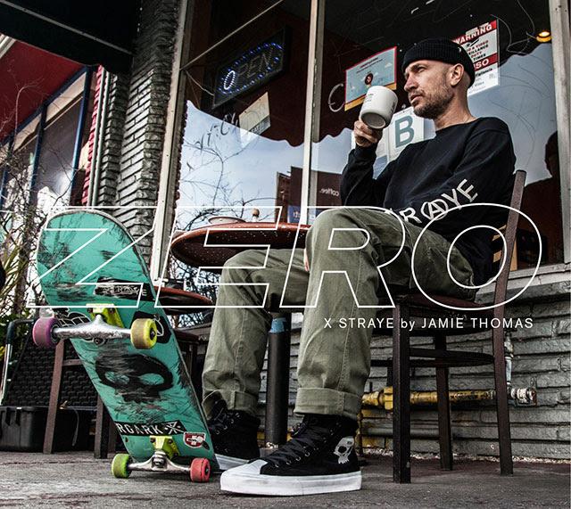 Zero Skateboards X Straye