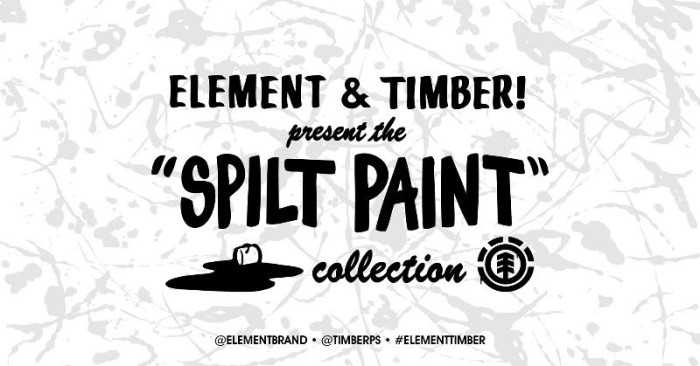 Element presents the Timber! Spilt Paint Collection