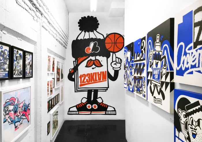 123Klan open the doors of their Montreal atelier for a one-off exhibition