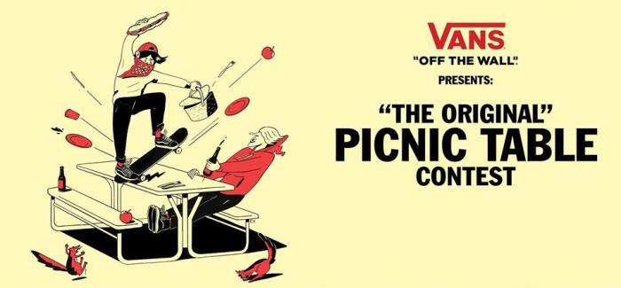 Vans Picnic Table Contest 2019