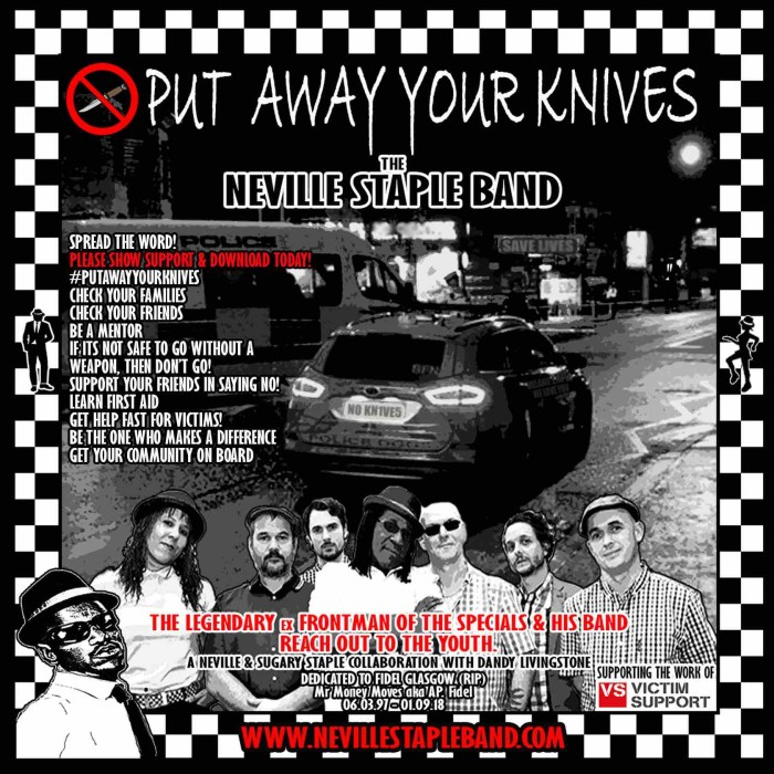 The Neville Staple Band 'Put Away Your Knives' (Official Music Video)