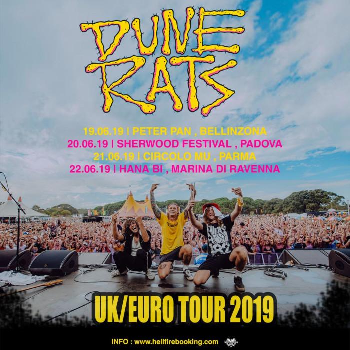 Dune Rats: quattro date in Italia!