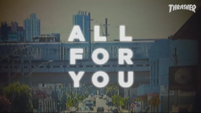 Carlos Ribeiro's 'All For You' part