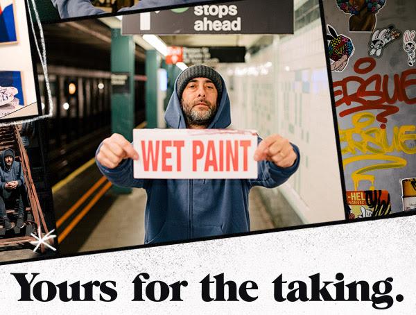 DC Shoes presenta un'esclusiva mostra d'arte: Wet Paint di Dave Persue