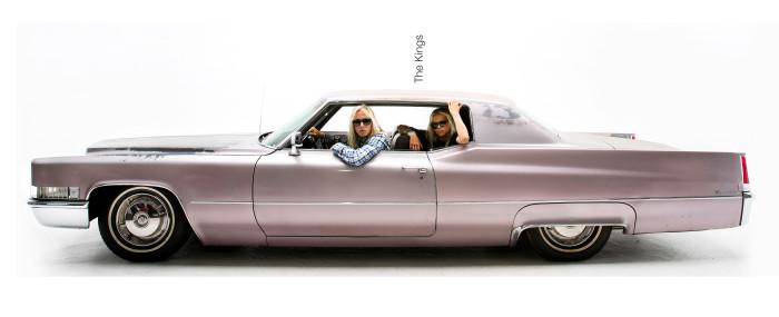 Electric / Pink Cadillac Coupe de Ville
