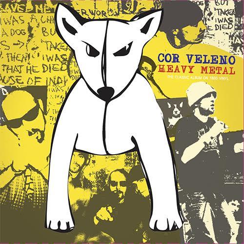 Cor Veleno, Antibemusic ristampa 'Heavy Metal' in doppio vinile