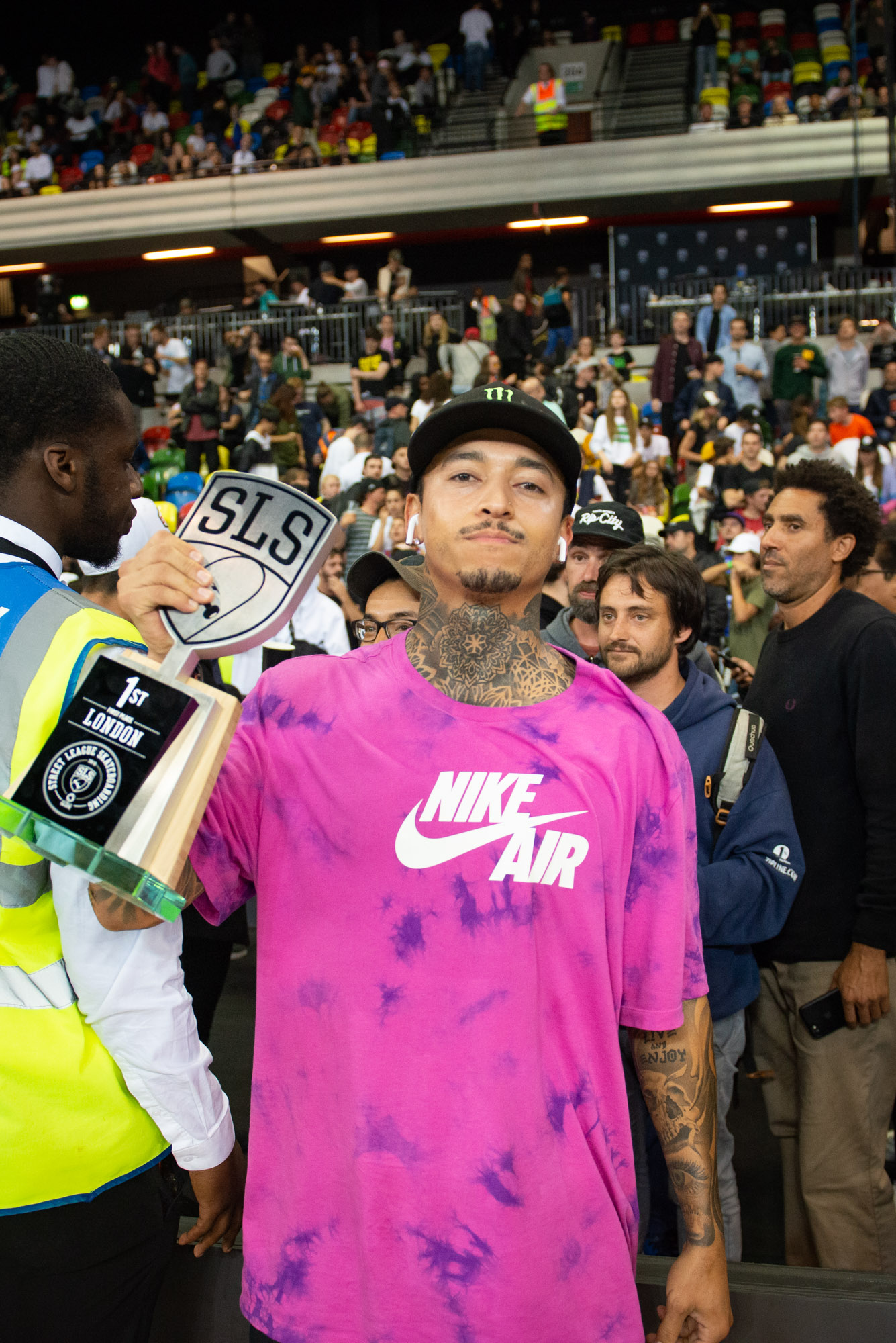 Monster Energy's Nyjah Huston takes 1st Place at SLS World