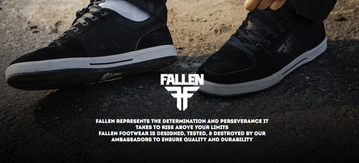 The return of one of the most influential skate shoe brands | Fallen Footwear