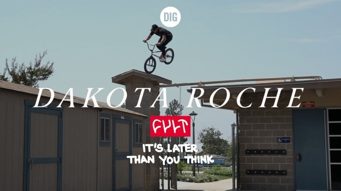 Dakota Roche – Cult Crew 'It's Later Than You Think' – DIG Bmx