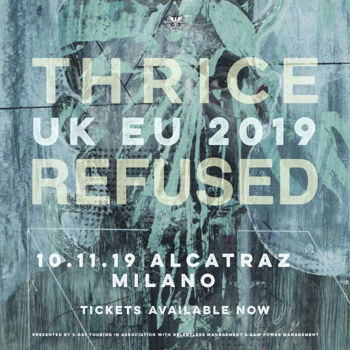 Thrice e Refused: unica data in Italia!