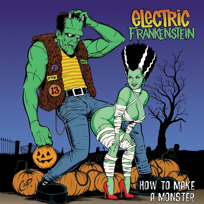 ELECTRIC FRANKENSTEIN RE-ISSUE 'HOW TO MAKE A MONSTER'