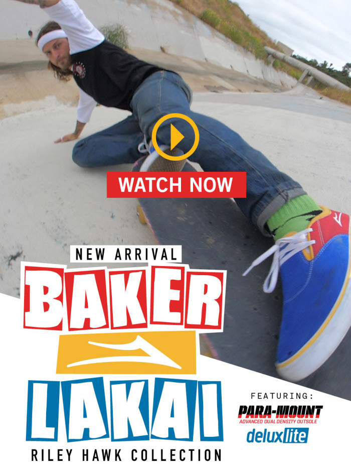Introducing the Lakai x Baker collaboration