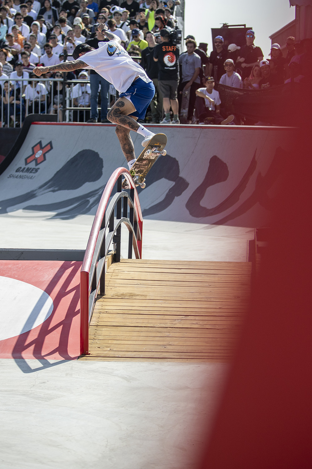 Nyjah Huston takes Gold in Skateboard Street | Salad Days