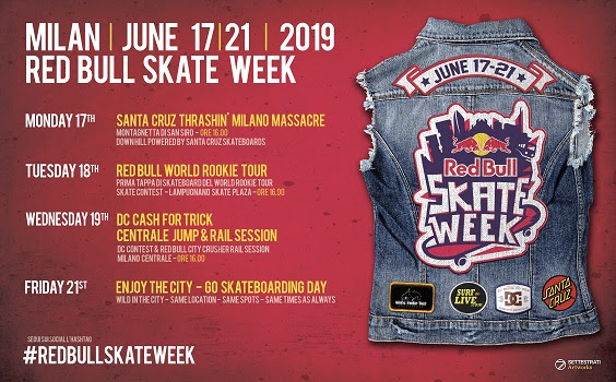 Arriva Red Bull Skate Week 2019