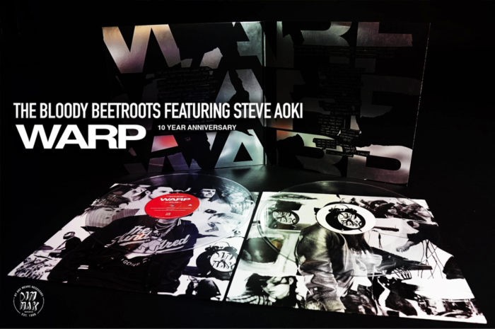 THE BLOODY BEETROOTS AND STEVE AOKI CELEBRATE 10TH ANNIVERSARY OF 'WARP' WITH DIGITAL AND VINYL RELEASE