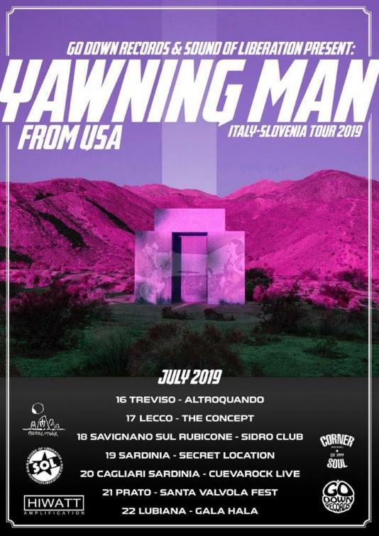 Yawning Man // Italy-Slovenia Tour 2019
