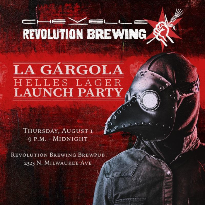 Chevelle announces exclusive Craft Beer collaboration with Revolution Brewing