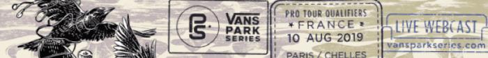 Paris/Chelles, France to host Vans Park Series Pro Tour Final Qualifiers ahead of World Championships