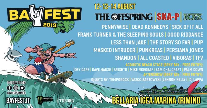Bay Fest 2019: tutte le attività, i dettagli e la lineup completa del festival