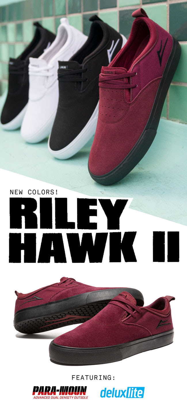 Lakai new Riley Hawk & 'Double Rock' video