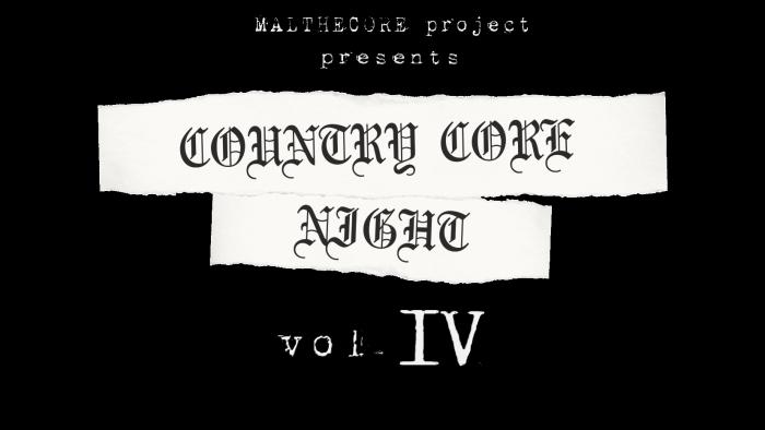 Country Core Night vol. IV: il teaser ufficiale del festival con Bunker 66, Neid, GMC e Orcu a Putignano (BA)