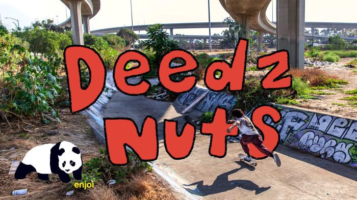 enjoi new deedz pro part… deedz nuts!