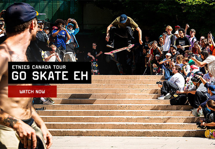 etnies presents 'Go Skate Eh' | Canadian Tour video