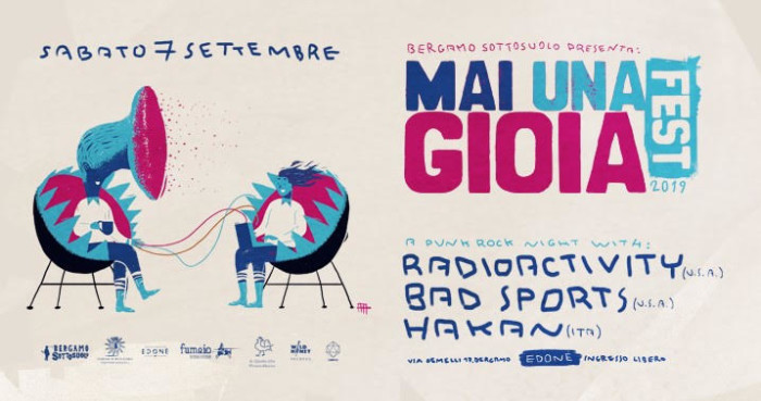 Sottosuolo presenta: Radioactivity | Bad Sports | Hakan all'Edonè