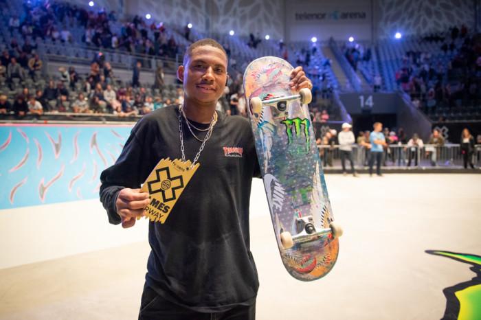 Ishod Wair takes Gold in Men's Skateboard Street at X Games Norway 2019