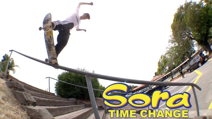 Blind Skateboards Sora's 'Time Change' Part