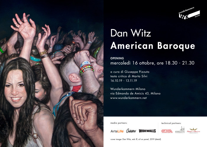 WK Milano | Dan Witz – American Baroque | Opening 16 ottobre 2019