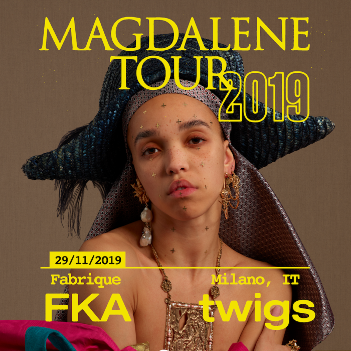 FKA Twigs | 'Magdalene' | Nuovo album + video + data unica in Italia