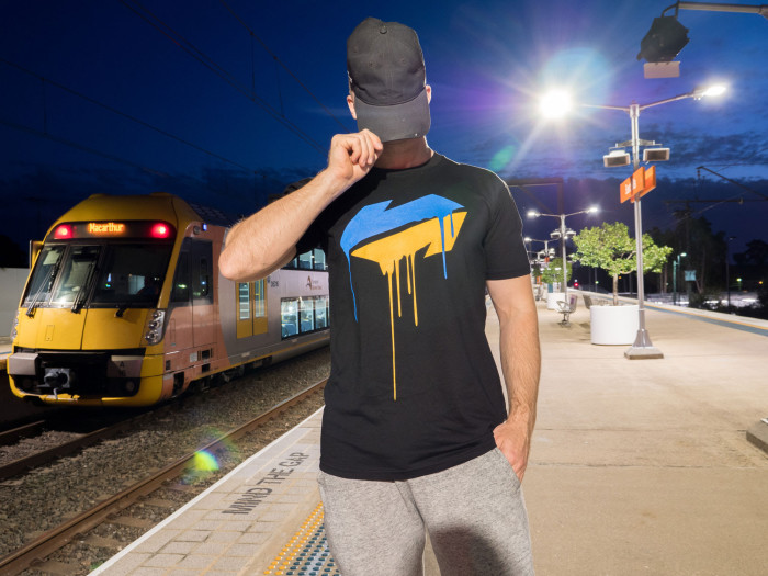 BSP Clothing The CityRail Drip Tee is back for a limited time
