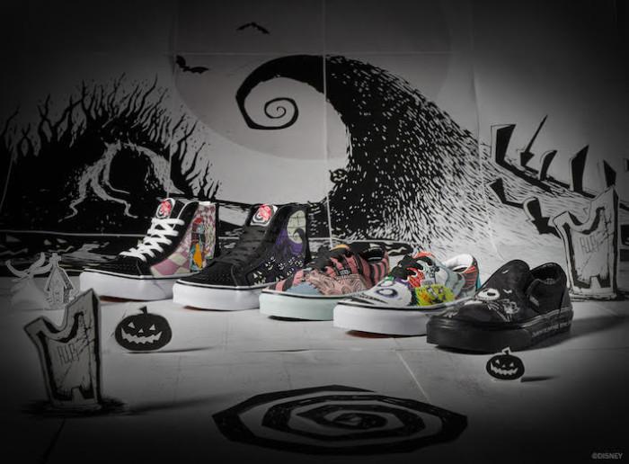 "Vans presenta la collezione dedicata a ""The Nightmare Before Christmas"""