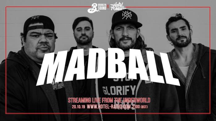 """Madball – insieme a Hotel Radio per il livestream del loro concerto """"Brooklyn Sound"""" di Londra!"""