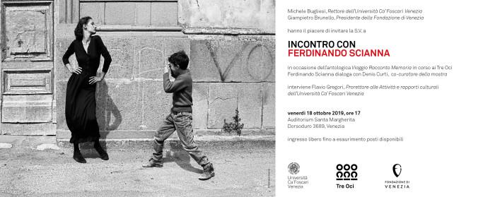 Incontro con Ferdinando Scianna | 18.10 | Auditorium Santa Margherita, Venezia