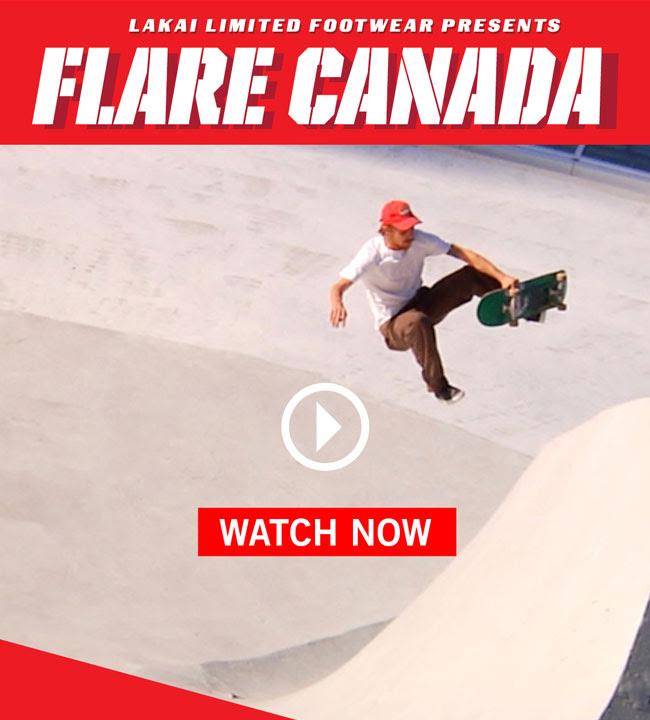 Lakai 'Flare Canada' Tour Video