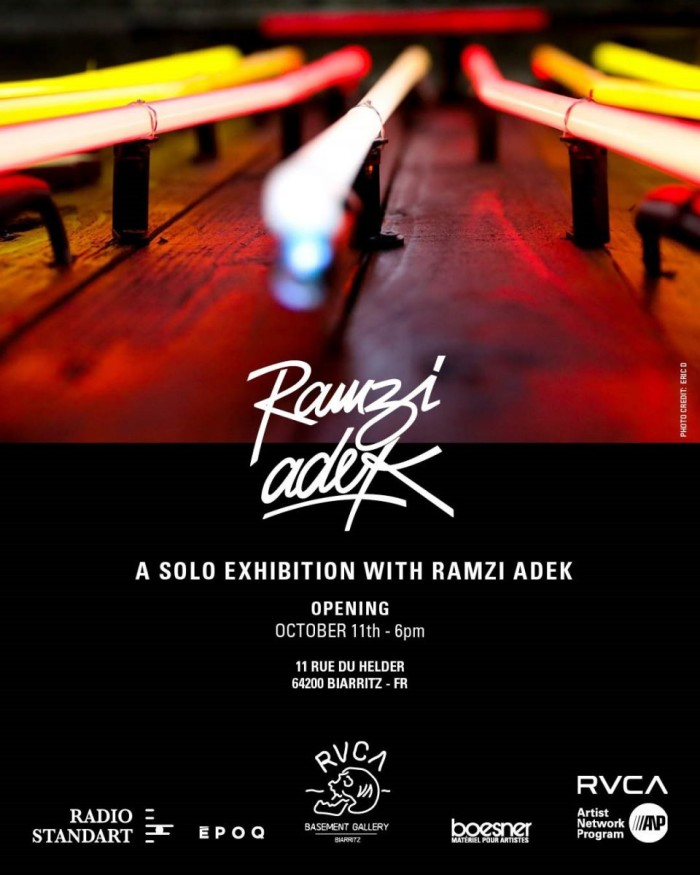 RVCA artist Ramzi Adek exhibition in Paris